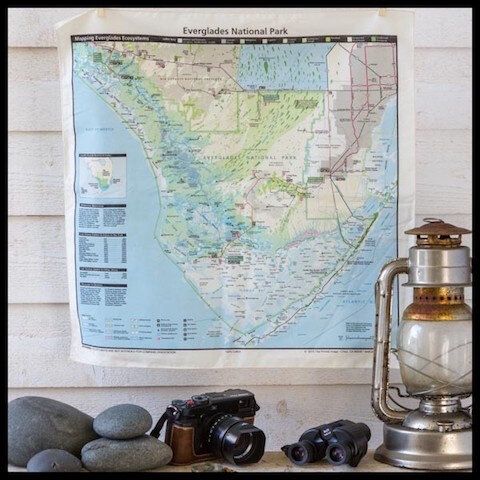le comptoir americain bandana plan everglades national parc