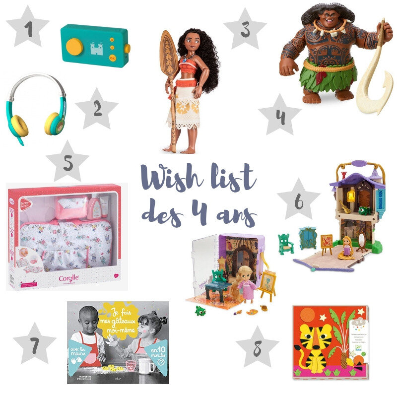 Wish list des 4 ans ©Kid Friendly
