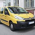 Citroën jumpy véhicule utilitaire la poste
