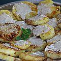 Tranches d'ananas braise, creme de coco, citron vert et epices a la plancha