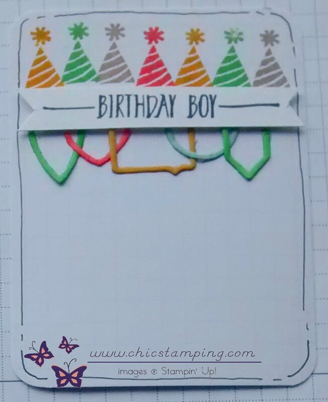 DIY project life card series paper clips 1