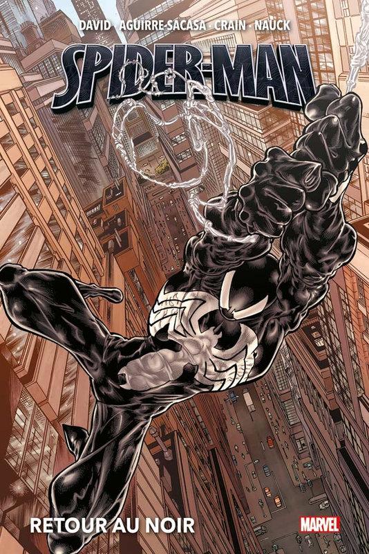 marvel deluxe spiderman retour au noir NED