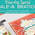 Blog hop de la stampin'class spécial sale-a-bration 2018 !