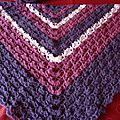 châle crochet South Bay Shawlette