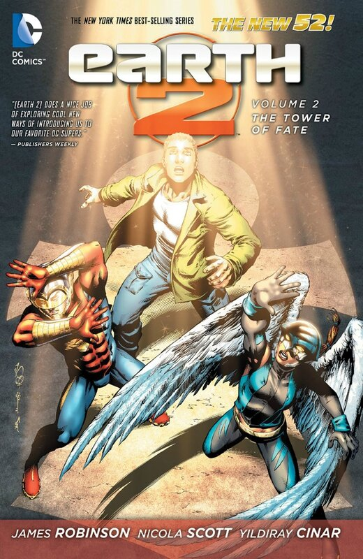 earth two vol 2 the tower of fate TP