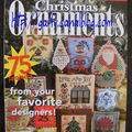 Just crossstitch 2010 special christmas ornaments