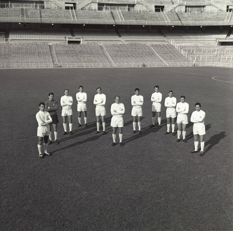 1963 time do real madrid junto com di stefano