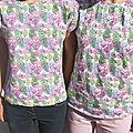 Tee-shirt mère-fille