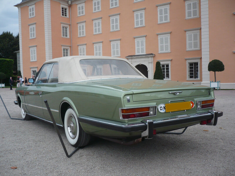 ROLLS ROYCE Phantom VI Frua drophead coupé 1973 Schwetzingen (2)