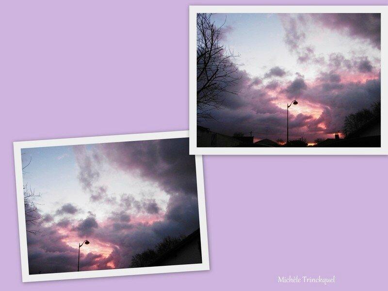 Lever de soleil nuageux 150118