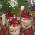 Trifles à la fraise