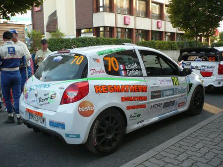 RENAULT Clio RS R3 n°70 Rallye de France-Alsace Illkirch (2)