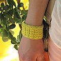 Mon bracelet au soleil