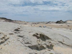 Piste sud Ugab river 1