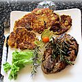 Gigot d'agneau, mariné à l'huile d'olive, sauce soja et herbes de provence