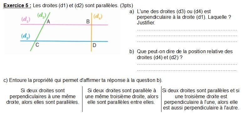 Exercice DSTn°3