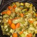 Tajine de légumes aux amandes