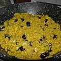 Plat ou accompagnement : quinoa aux endives et raisins secs