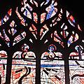 Les vitraux de l'église de mézières le 10 juillet 2017 (2)