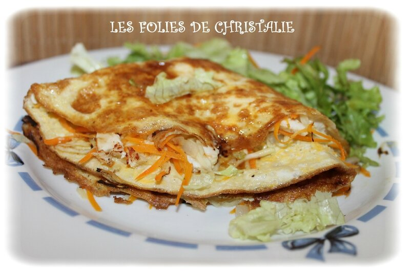Omelettes chinoises 8