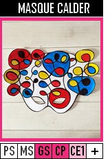 V353-MASQUES-Masque Calder