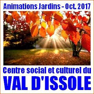 Animations jardins Centre social et culturel du Val d'Issole
