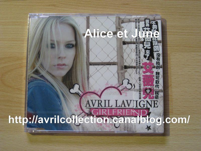 Maxi CD Girlfriend-version de Taïwan (2007)