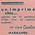 Lou Garounés 1935 Publicités (39)