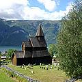 Stavkirke d'urnes - norvege