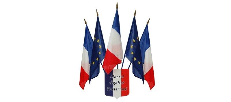 Drapeaux-Français-et-Européens