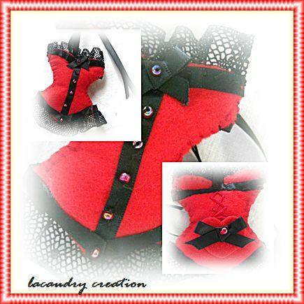 corset rouge montage 1
