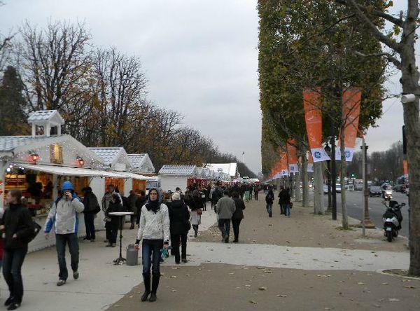 Marché de Noël de Paris 2