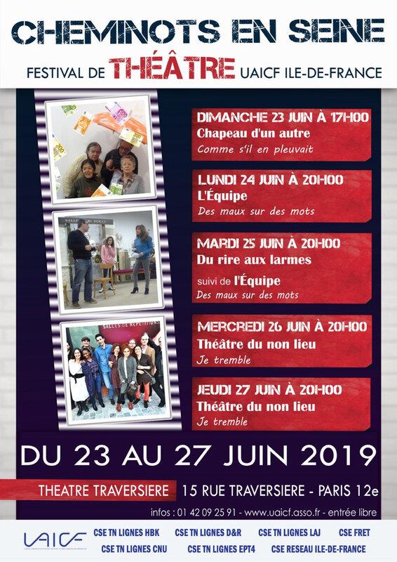 Affiche theatre 2019