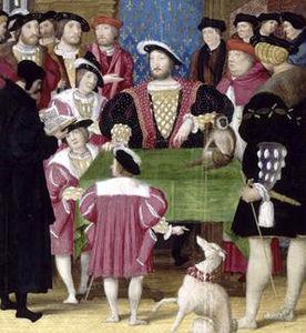 Henri d'Orléans à la cour du roi François, musée Condé