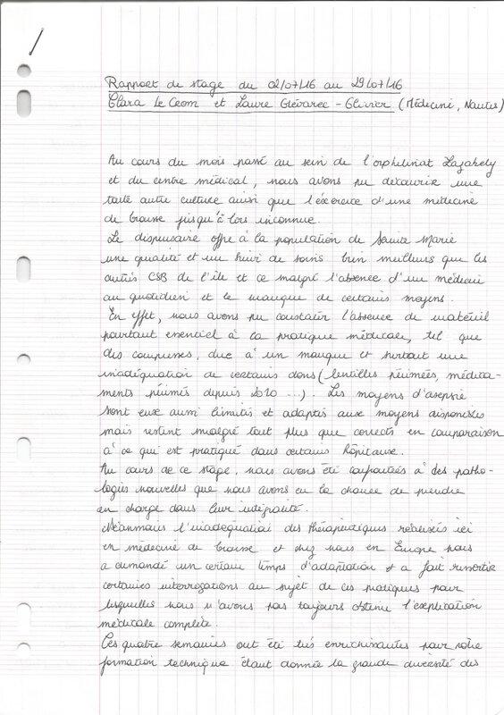 rapport Clara Laure Nantes 7 16