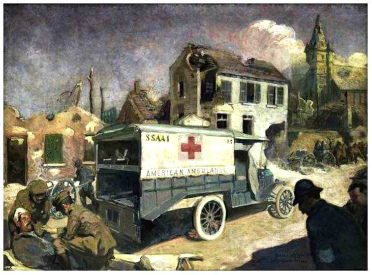 Ambulance Amér Ford 1917-1