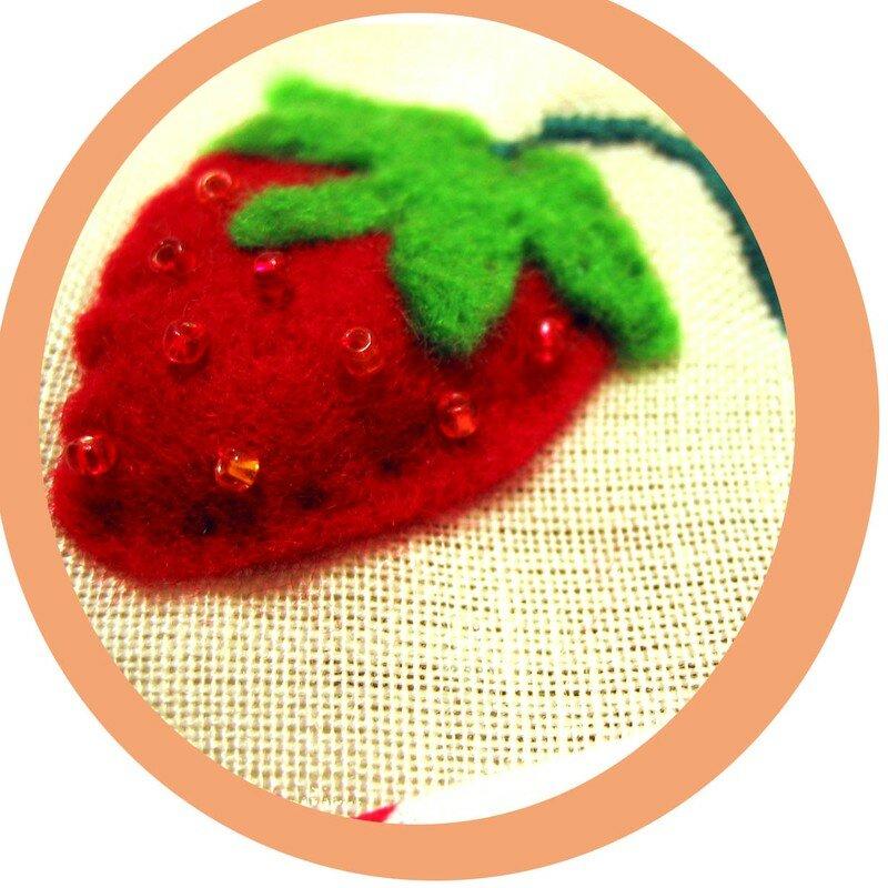 Tablier fraise (detail 1)