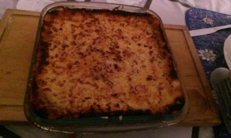 Lasagne bolognaise à l'aubergine (2)