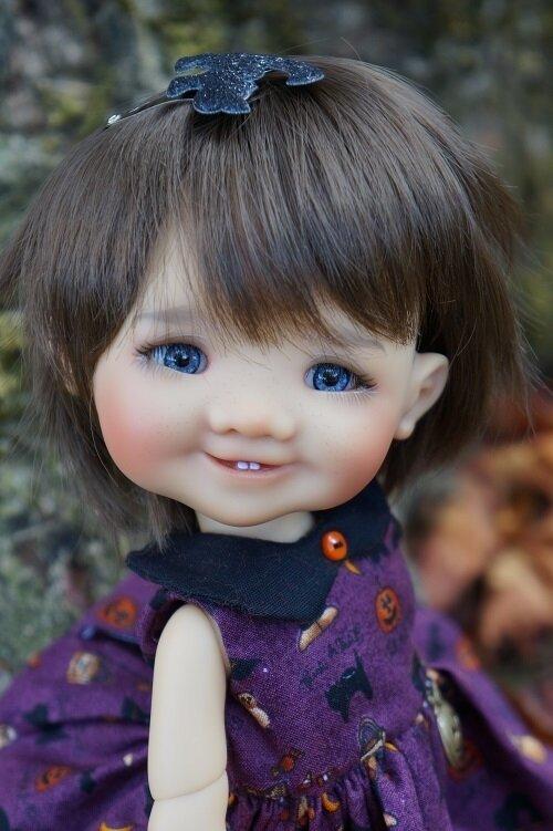 Gigi , bjd de Meadowdolls est prête pour Halloween !