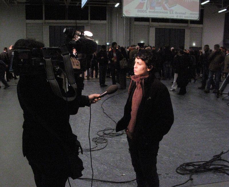 forum des jeunes à Polydome, decembre 2008, clfd