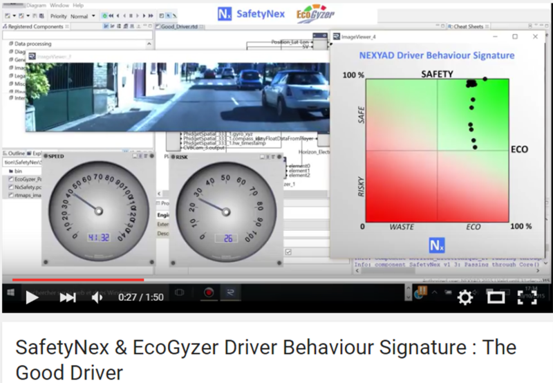 NEXYAD Adas driving behaviour signature Safe x Eco - Good Driver