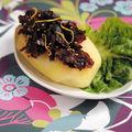Caviar de nori sur pomme de terre