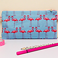 trousse d'ecole flamants roses
