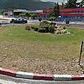 Rond-point à ohrid (macédoine)