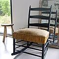 Chaise a bascule henri