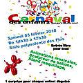 Carnaval des enfants 2018 avec coupon réponse a télécharger
