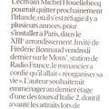 Houellebecq veut emménager dans le xiiie
