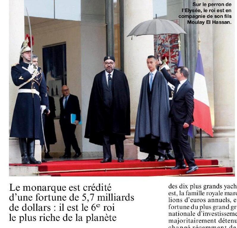 maroc mineur etranger france roi milliardaire impot cannabis islam macron lrem délinquance dette du maroc envers la france