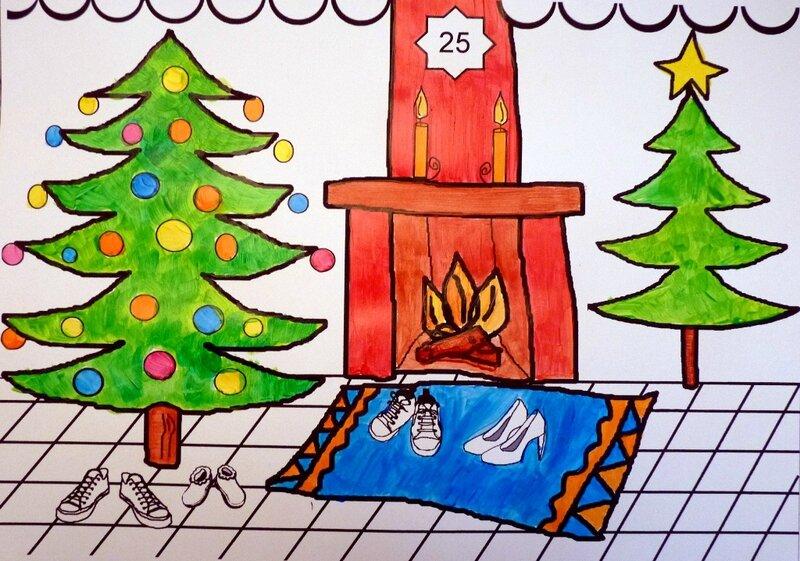 189_Noël Nouvel an_Calendrier de l'avent Au pied du sapin (11)