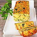 Terrine courgettes & menthe (veggie)
